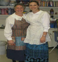 Photo of teachers on pioneer day
